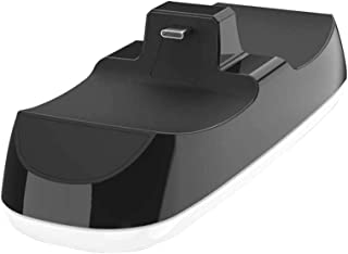Twin Dock Charging Station Handle Controller, USB Charger Dual Charging Dock Stand Station with Dual USB C Ports, Console ...
