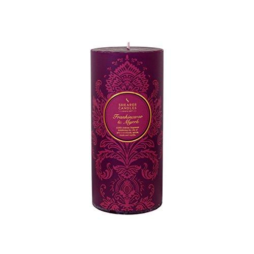 Shearer Candles SC7668 Bougie d'hiver parfumée Bordeaux