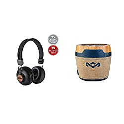 Product 1: AWARD WINNING MARLEY SOUND - These T3 Platinum and Best on Test Award winning headphones are made from widely recyclable aluminium and FSC Certified Wood. Incorporating 2 x large 50mm aperture drivers, providing exceptional clarity through...