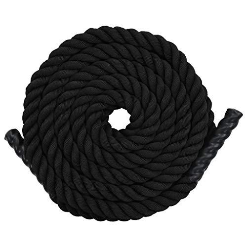pedkit Cuerda de Batalla Battle Rope Cuerda ondulatoria de poliéster 12 m...
