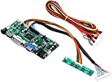 KASILU YHJ322 M.NT68676.2A LCD Monitor Controller Board Converter Driver Kit HDMI DVI VGA for 1920x1200 LM240WU2-SLB2 Scientific Experiment Module High-Performance