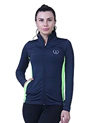 ONESPORT Womens Solid Sports Jacket