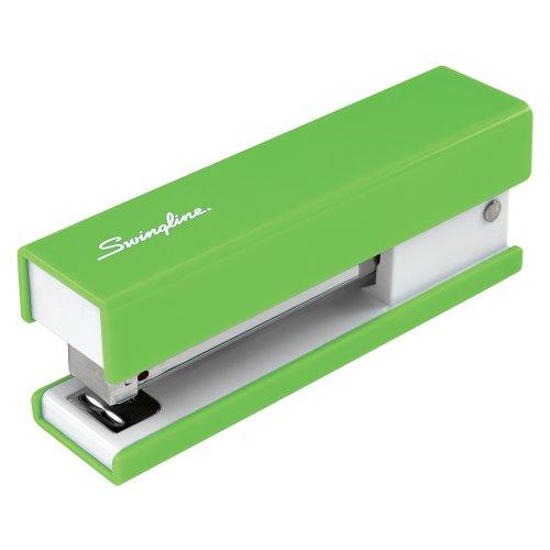 Swingline Half Strip Fashion Stapler, 20-Sheet Capacity, Green (87827)