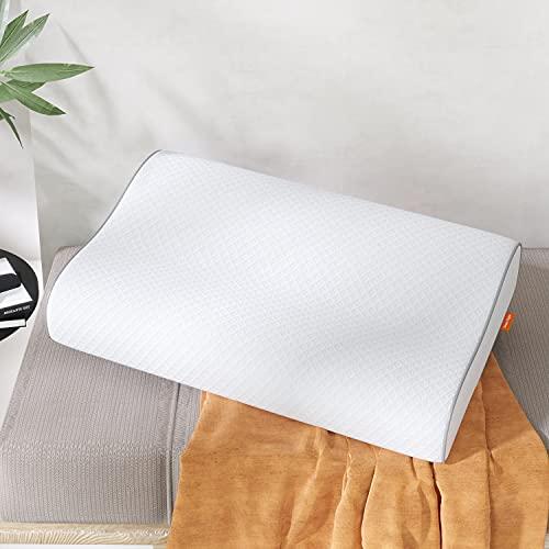 Sweetnight Memory Foam Pillow, Orthopaedic Pillows- Ergonomic Anti Snore...