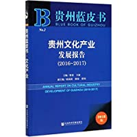 贵州文化产业发展报告(2018版2016-2017)/贵州蓝皮书