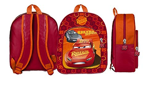 Star Disney Cars & Planes Art. Code- 54689 Backpacks Form- Medium mit Futter und gedrucktem Bild, Maße: 25 x 11 x 32 cm