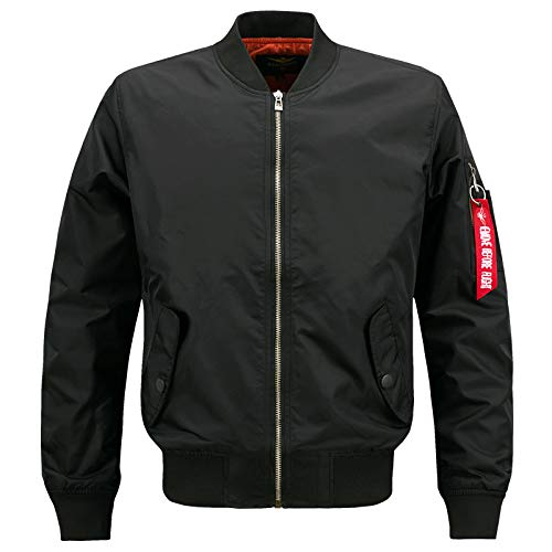 Herren Freizeitjacke Army Military Flight Pilot Bomberjacken Herren Frühjahr Herbst Oberbekleidung Jacke Big Size 8XL