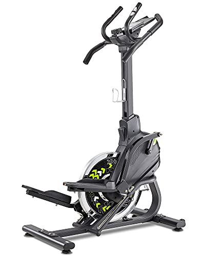 Stepper Elliptical Machine Trainer Elliptical Climber with 20LBS Large Flywheel & Crank Technology for Exercise Workout at Home