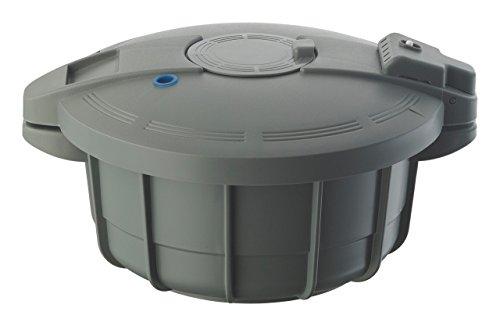 Prestige 2,2 liter magnetron-snelkookpan grijs