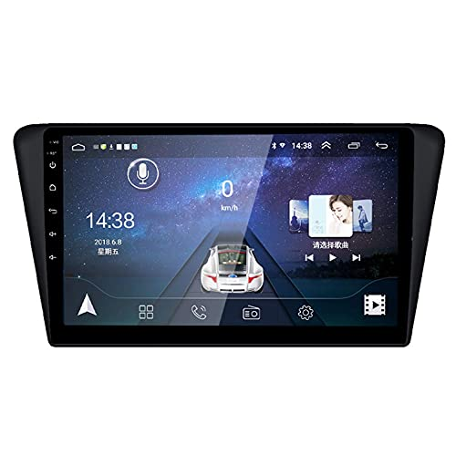 GTFHUH Navegador GPS para Coche Android 10 para Peugeot 408 2014-2017 con Soporte de Pantalla capacitiva HD Mirror-Link DSP Bluetooth Sistema Manos Libres Dab +, WiFi + 4G