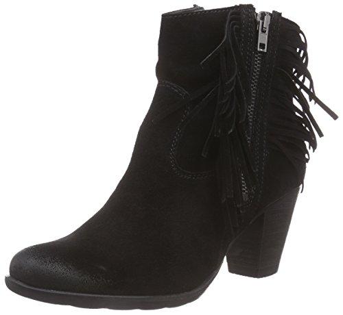 Tamaris Damen 25703 Kurzschaft Stiefel, Schwarz (Black 001), 40 EU