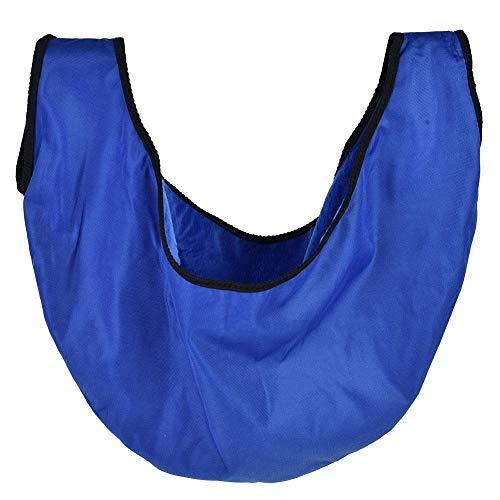 Cerlingwee Bolsa de Bola de Bolos portátil Plegable, Bolsa de Juguete de Bola Duradera Conveniente, para Deportes de Equipo de Gimnasio(Blue)
