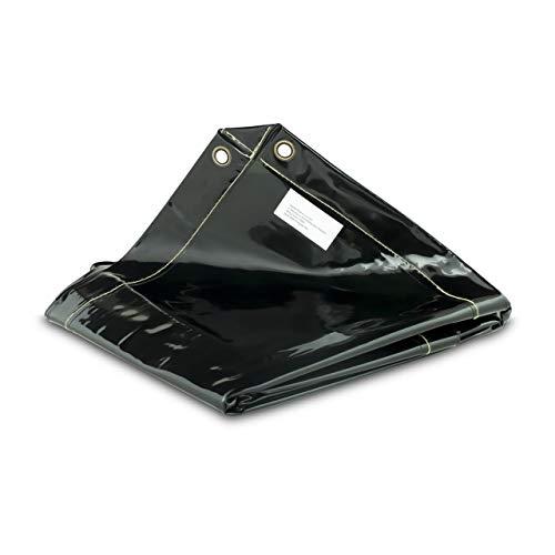 Stamos Germany Cortina de Protección para Soldadura SWS01 (Material de vinilo especial - 4 mm, Costuras e hilos sintéticos, Dimensiones 239 x 175 cm)