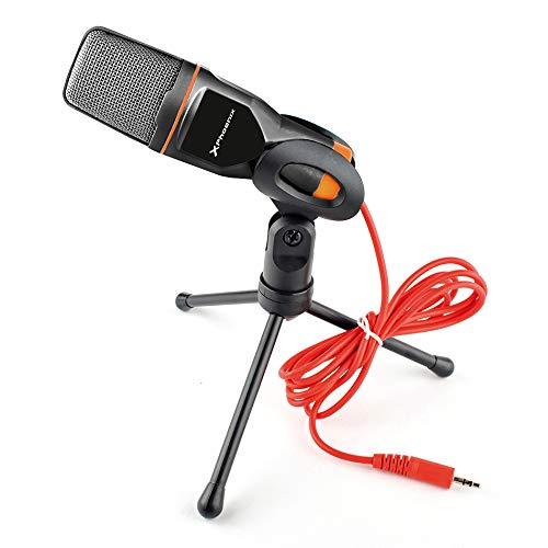Phoenix Technologies phpodcaststudio Jack 3.5mm Micrófono Multimedia