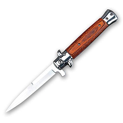 Eil Klappmesser Einhandmesser Scharfes Taschenmesser, Jagdmesser Outdoor Survival Messer