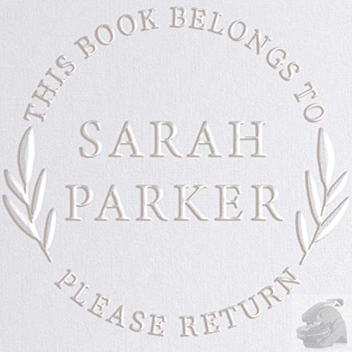 Personalized Library Book Embosser Stamp Custom from The Library of from The Library of Embosser Library Book Embosser Seal Stamp Personalized Customized