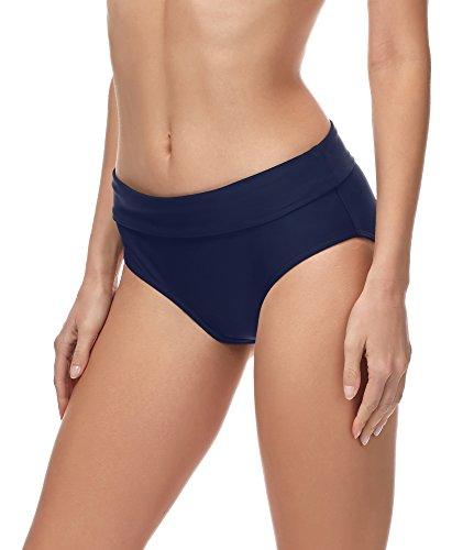 Merry Style Damen Bikini Slip MSVR5 (Dunkelblau (6007), 38)