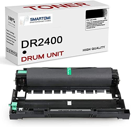 SMARTOMI DR2400 Tamburo Compatibile con Brother TN2420 per MFC-L2710DW MFC-L2750DW HL-L2310D HL-L2370DN DCP-L2510D DCP-L2530DW MFC-L2730DW HL-L2350DN HL-L2375DW DCP-L2537DW DCP-L2550DN (Non toner)