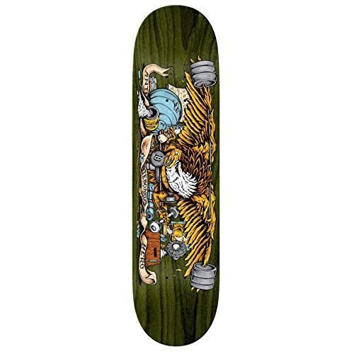 Anti Hero Pumping Feathers Skateboard Deck 8.5 inch Multi