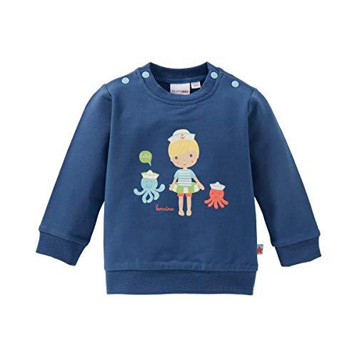 Bornino Sweat-shirt T-shirt bébé vêtements bébé, bleu