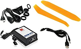 Grom Audio HON1B3 Bluetooth Hands-free phone and streaming music kit PLUS Grom 35USB auxiliary audio and USB charging cable PLUS dash-mount USB/Aux kit PLUS dash trim removal tools. For select 03+ Honda/Acura vehicles. (Bundle: 4 items)