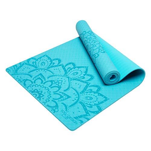 YOGA DESIGN LAB The Flow Mat Pure (Mandala Aqua)