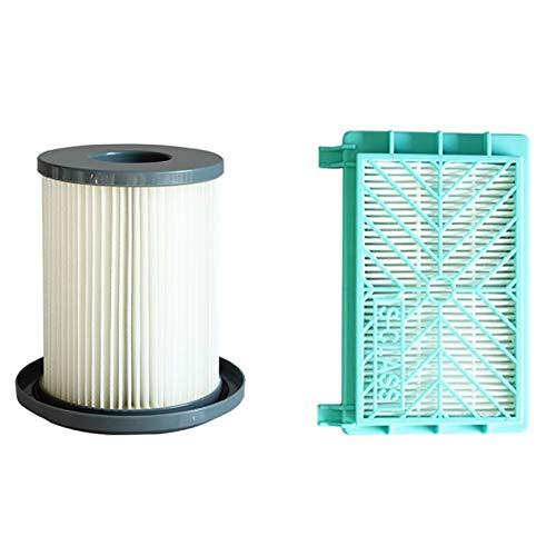 LITAO-XIE, LT-Home, 2PCS Filtro de HEPA for Philips FC8732 FC8734 FC8736 FC8738 FC8740 FC8748 vacío Robot Limpiador de Partes de Repuesto filtros de Escape