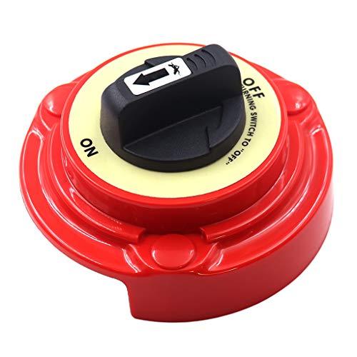KESOTO 2-Positionen Dual-Batterie Wahlschalter Trennschalter für Boot Jacht