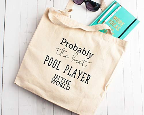Probablemente el mejor jugador de piscina en el mundo bolsa de la...