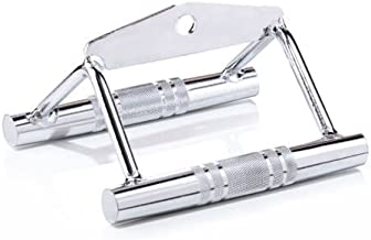 STEELY SPORTS Grepen fitnesstower & kabelkabel – roeigreep/parallelgreep massief staal – in studiokwaliteit (kabeltrekgree...