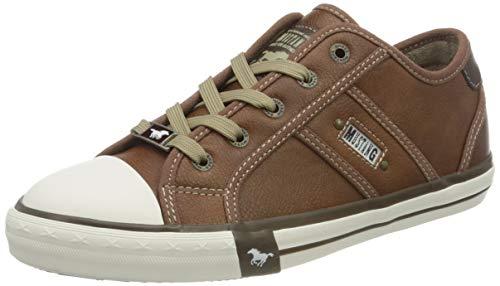 MUSTANG Damen 1209-301 Sneaker, Braun (307 Cognac), 40 EU