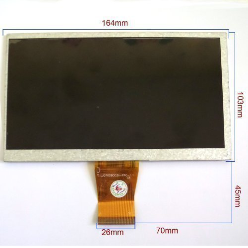 DYYSELLS 7cunmomoXIAN004 7 inch Led Display Kleur Scherm Vervanging voor INNO-HIT Golem 708 Android Tablet