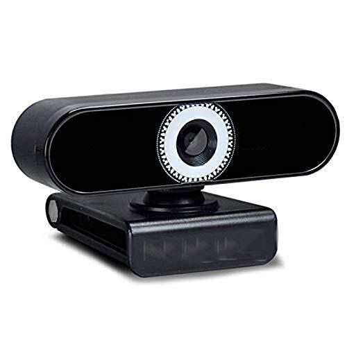 Wdonddonsxt webcam El enfoque automático HD webcam de la computadora, 1080P de escritorio todo-en-uno Live USB Mic vídeo de webcam, Soporte vertical de la pantalla, Ordenador portátil Conferencia de l