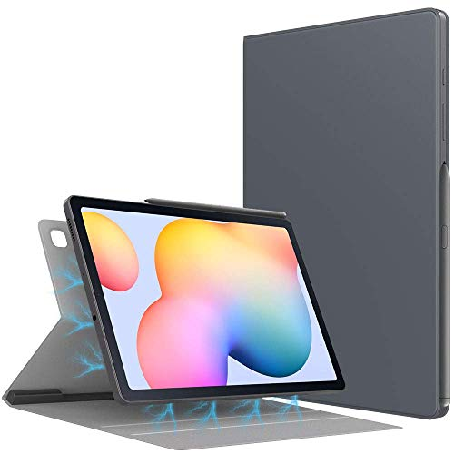 Case for All-New Galaxy Tab S6 Lite 10.4 Inch 2020 (SM-P610/P615), Ultra Slim Lightweight Magnetic Stand Cover with Auto Sleep/Wake Fit Galaxy Tab S6 Lite 10.4 2020 Tablet - Space Gray