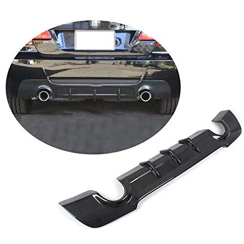 XTT Adatto per BMW Serie 3 E92 E93 M Sport Coupe Cabrio 2007-2012 Fibra di Carbonio CF Paraurti Posteriore Diffusore Lip Spoiler Kit Corpo