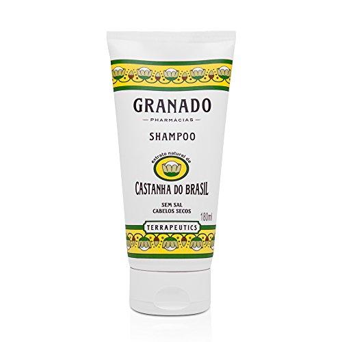 Shampoo Terrapeutics Castanha do Brasil, Granado, Amarelo, 180Ml