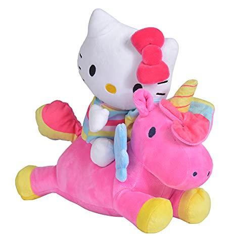 NICOTOY Simba Hello Kitty Peluche Licorne 25 cm 1 Unité