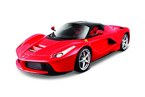 Maisto- Bburago France 16901R LaFerrari Signature Series - Scala 1/18