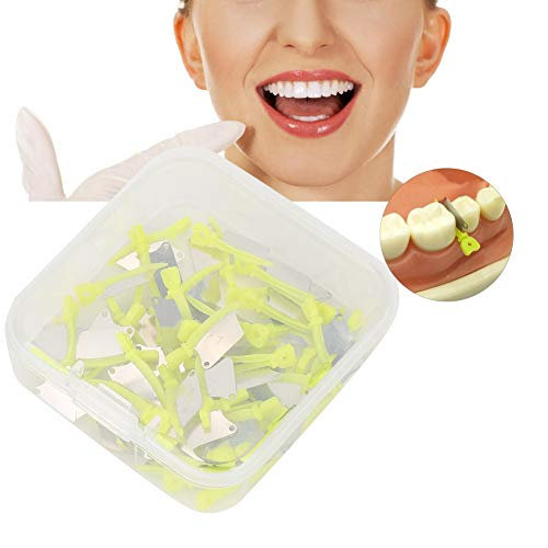 Dental Wedges, Special Disposable Dental Plastic 50pcs/Box with Alloy for Orthodontic teeth