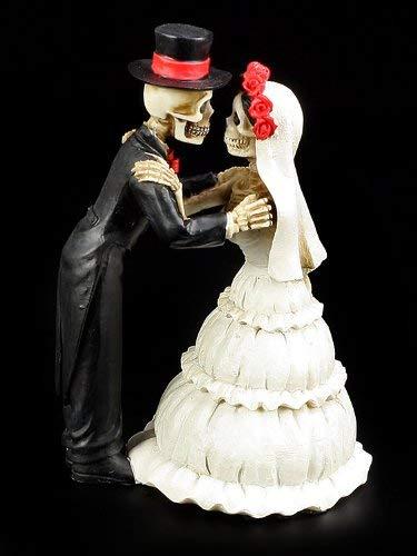 Skelett Brautpaar Figur - Endless Love - Geschenk Hochzeit