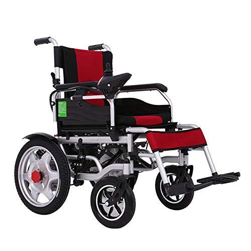 Y&XF Silla de Ruedas eléctrica Ancianos Coche discapacitado Ancianos Inteligente Automático Scooter...