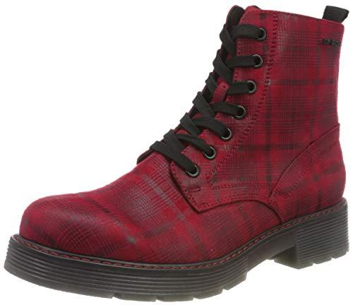 TOM TAILOR Damen 9093509 Halblange Stiefel, Red, 40 EU
