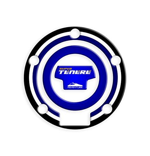 Fuel Cap Sticker Schutz Tankdeckel Yamaha XT1200Super Ténéré 2012–2014| Yamaha Tank Protector gp-373 blau
