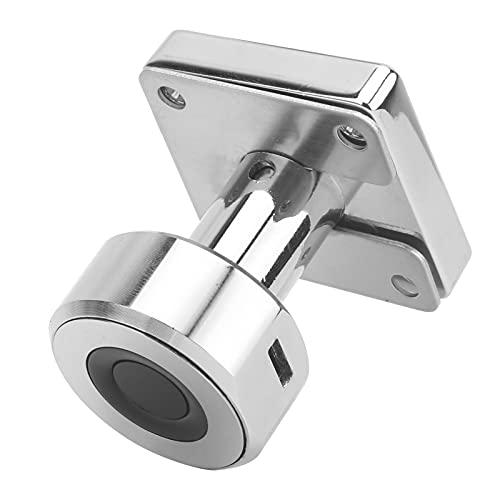 Cerradura sin Llave para Armario, Cerradura Inteligente para Armario, Cerradura antirrobo con Huella Dactilar, Huella Dactilar, desbloqueo de aplicación Bluetooth, Puerto de Carga USB