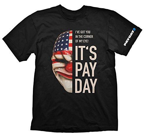 Payday 2 T-Shirt Dallas Maske, S