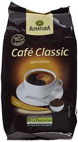 Alnatura Bio Café Classic, gemahlen, 2er Pack (2 x 500 g)