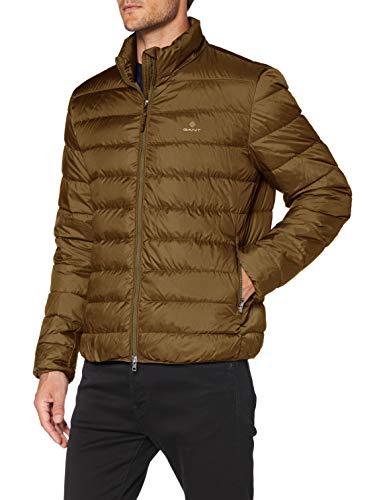 GANT The Light Down Jacket Chaqueta, CACTO Oscuro, XXXL para Hombre