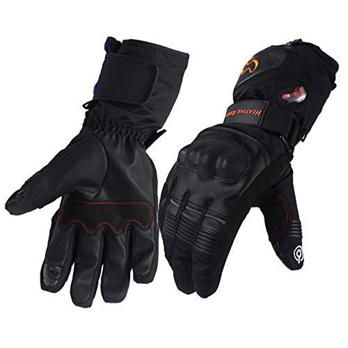 ZXLIFE@@ Verstelbare Verwarmde Handschoenen met Touch Screen Sensor, Oplaadbare Batterij Verwarming Handschoenen, Covers Hele Hand M