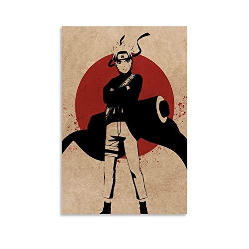 shangfeng Naruto Shippuden - Póster decorativo de anime (20 x 30 cm)