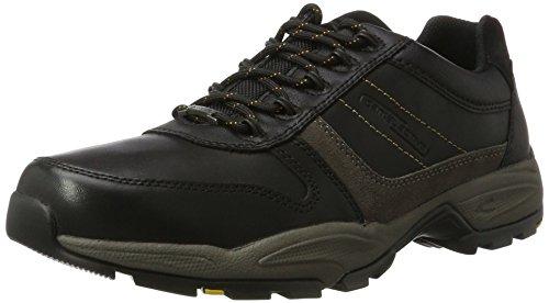 camel active Herren Evo GTX 20 Sneaker, Schwarz (Black/Grey 1), 40.5 EU